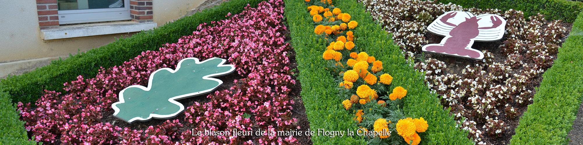 fleurissement mairie flogny