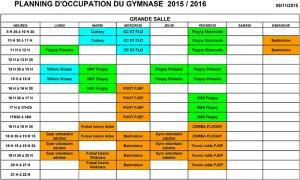 planning occupation gymnase 2015-2016 flogny la chapelle