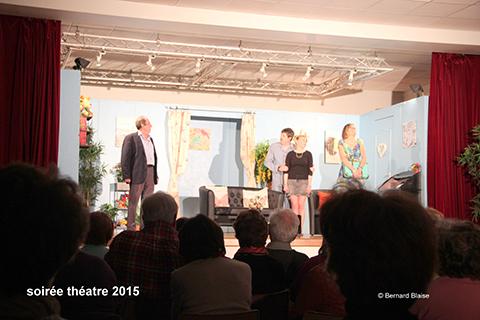 Soirée théâtre à Flogny la chapelle